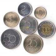 Венгрия 1992-2010 набор 7 монет
