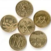 Польша набор 6 монет 2004-2014 Олимпийские игры