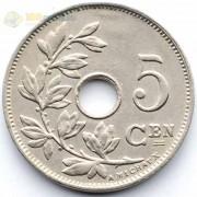 Бельгия 1927 5 сантимов BELGIE