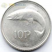 Ирландия 2000 10 пенсов Атлантический лосось