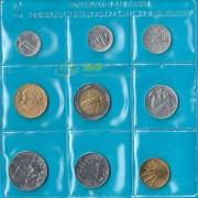 Сан-Марино 1985 набор 9 монет (запайка)