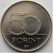 Венгрия 2003 50 форинтов Балобан