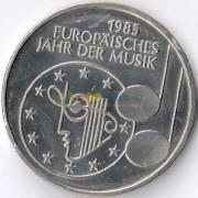 ФРГ 1985 5 марок Европейский год музыки