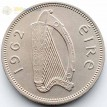 Ирландия 1962 1 шиллинг Бык