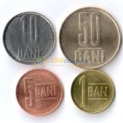 Румыния 2005-2015 набор 4 монеты