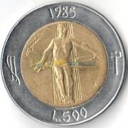 Сан-Марино 1985 500 лир Борьба с наркотиками