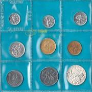 Сан-Марино 1978 набор 9 монет (запайка)