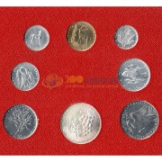 Ватикан 1974 набор 8 монет в буклете