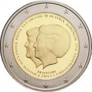 Нидерланды 2013 2 евро Беатрикс Виллем-Александр