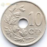 Бельгия 1927 10 сантимов BELGIE