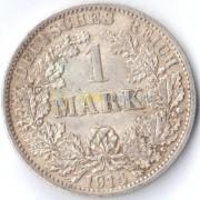 Германия 1914 1 марка A (VF)