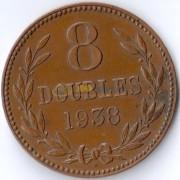 Гернси 1938 8 дублей