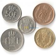 Люксембург 1964-1999 набор 5 монет