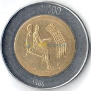 Сан-Марино 1986 500 лир Технологии