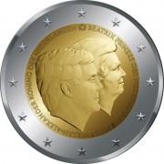 Нидерланды 2014 2 евро Двойной портрет