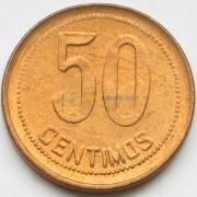 Испания 1937 50 сентимо