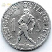 Австрия 1946 1 шиллинг