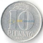 Германия 1971 10 пфеннигов