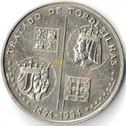 Португалия 1994 200 эскудо Тордесильясский договор