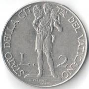 Ватикан 1941 2 лиры Пий XII