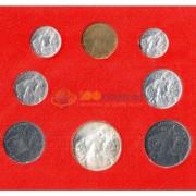 Ватикан 1966 набор 8 монет в буклете