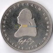 ФРГ 1981 5 марок Готхольд Эфраим Лессинг