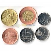 Чехия 2012-2014 набор 6 монет