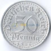 Германия 1921 50 пфеннингов E