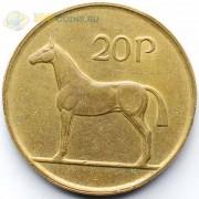 Ирландия 1986-2000 20 пенсов Лошадь