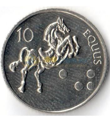 Словения 2002 10 толаров Лошадь