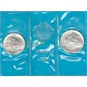 Сан-Марино 1982 500 и 1000 лир Гарибальди (серебро)