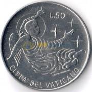 Ватикан 1969 50 лир Ангел
