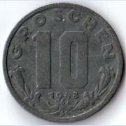 Австрия 1947-1949 10 грошей