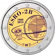 Бельгия 2018 2 евро Европейский спутник ESRO 2B