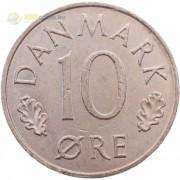 Дания 1973-1988 10 эре