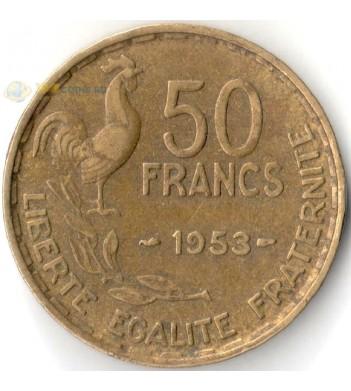 Франция 1950-1958 50 франков