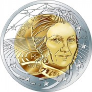 Франция 2018 2 евро Симона Вейль