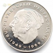 ФРГ 1970-1987 2 марки Теодор Хойс