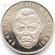 ФРГ 1988-2001 2 марки Людвиг Эрхард