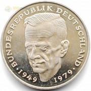 ФРГ 1979-1993 2 марки Курт Шумахер