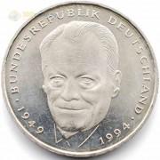 ФРГ 1994-2001 2 марки Вилли Брандт