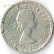 Великобритания 1967 2 шиллинга