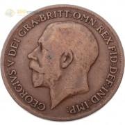 Великобритания 1911-1926 1 пенни