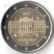 Германия 2019 2 евро Бундесрат A