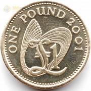 Гернси 2001 1 фунт