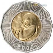 Хорватия 2000 25 кун Миллениум