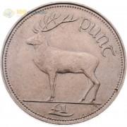 Ирландия 1990-2000 1 фунт Благородный олень