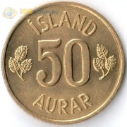 Исландия 1969-1974 50 эйре