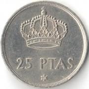 Испания 1975 25 песет