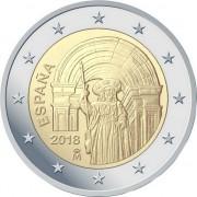 Испания 2018 2 евро Сантьяго-де-Компостела